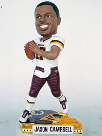 Washington Redskins Jason Campbell Helmet Base Bobble Head
