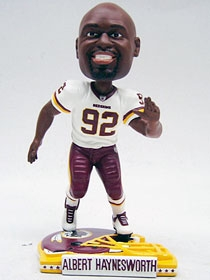 Washington Redskins Albert Haynesworth Helmet Base Bobble Head