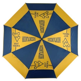 West Virginia Mountaineers Golf Umbrella