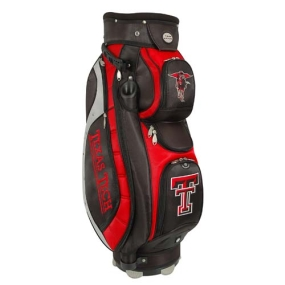 Texas Tech Red Raiders Letterman's Club II Cooler Cart Golf Bag