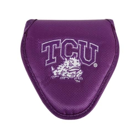 TCU Horned Frogs Mallet Putter Cover