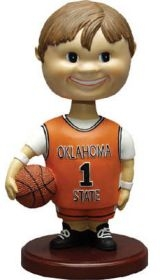 Oklahoma State Cowboys Memory Company Basketball Bobble Head