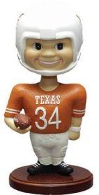 Texas Longhorns Memory Company Football Bobble Head