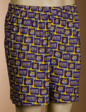 LSU Tigers Boxers