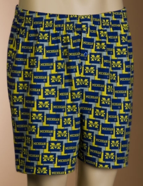 Michigan Wolverines Boxers