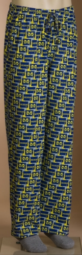 Michigan Wolverines Pajama Lounge Pants
