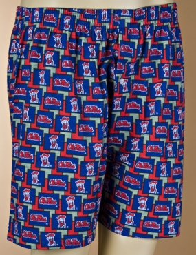 Mississippi Rebels Boxers