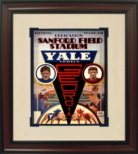 1929 Georgia vs. Yale Historic Football Program Cover