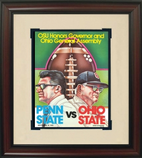 1978 Penn State vs. Ohio State Historic Football Program Cover