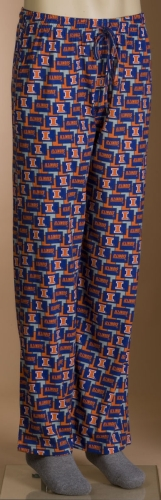 Illinois Fighting Illini Pajama Lounge Pants