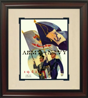 1941 Army vs. Navy Historic Football Program Cover