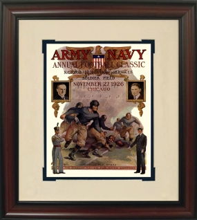 Army 1926 Soldier Field Historic Football Program Cover