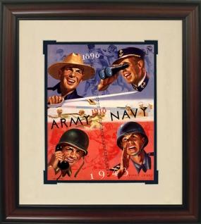 1943 Army vs. Navy Historic Football Program Cover