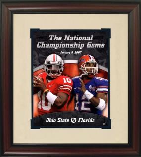 Florida 2007 BCS Championship Historic Football Program Cover