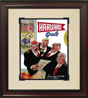 1948 Harvard vs. Yale Historic Football Program Cover