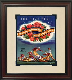 Georgia 1943 Rose Bowl Historic Football Program Cover
