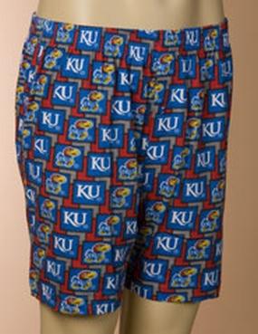 Kansas Jayhawks Boxers