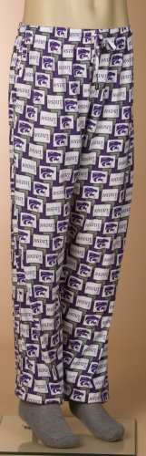 Kansas State Wildcats Pajama Lounge Pants