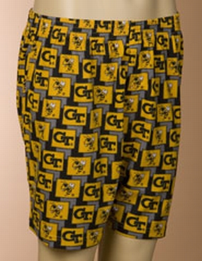Georgia Tech Yellow Jackets Boxers