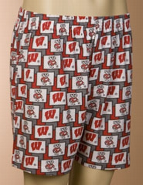Wisconsin Badgers Boxers