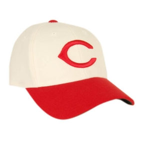 Cincinnati Reds 1957-1958 Cooperstown Fitted Hat