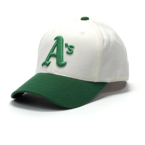 Oakland A's 1972-1975 Cooperstown Fitted Hat