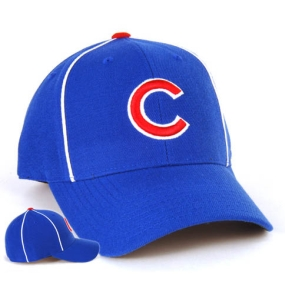Chicago Cubs 1957 Cooperstown Fitted Hat