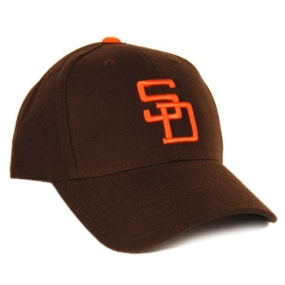 San Diego Padres 1969 Cooperstown Fitted Hat