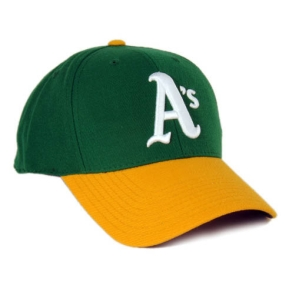 Oakland A's 1976 Cooperstown Fitted Hat