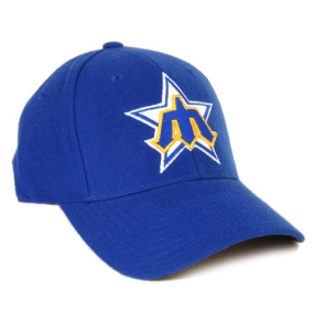 Seattle Mariners 1981 Cooperstown Fitted Hat