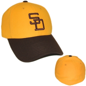 San Diego Padres 1972 Cooperstown Fitted Hat