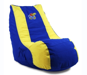 Kansas Jayhawks Bean Bag Lounger