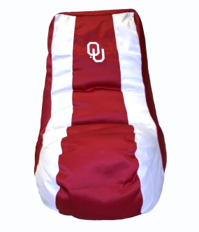 Oklahoma Sooners Bean Bag Lounger