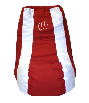 Wisconsin Badgers Bean Bag Lounger