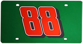 Dale Earnhardt Jr. #88 Laser Cut License Plate