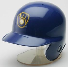 Milwaukee Brewers 1978-93 Throwback Mini Batting Helmet