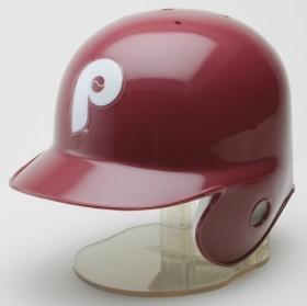 Philadelphia Phillies 1973-91 Throwback Mini Batting Helmet