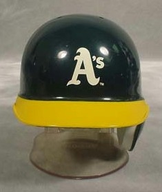 Oakland Athletics Mini Batting Helmet