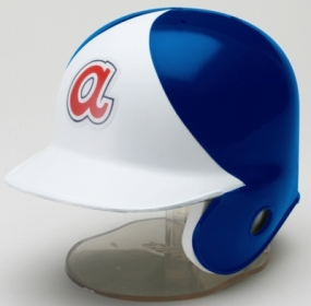 Atlanta Braves 1972-80 Throwback Mini Batting Helmet