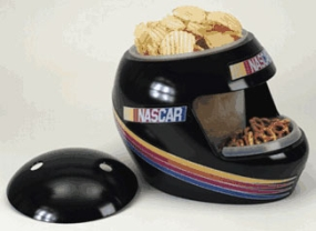 Nascar Racing Snack Helmet