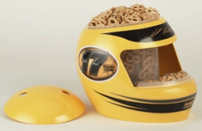 Matt Kenseth Snack Helmet