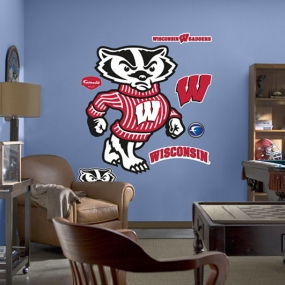 Wisconsin Mascot - Bucky Badger Fathead