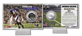 Anquan Boldin Silver Coin Card