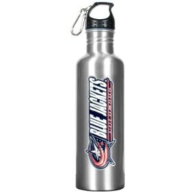Columbus Blue Jackets 1 Liter Aluminum Water Bottle