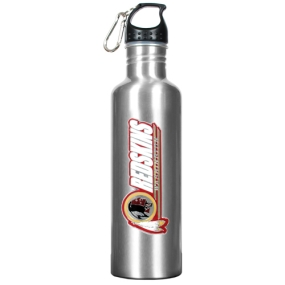 Washington Redskins 34oz Silver Aluminum Water Bottle
