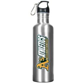 Oakland A's 34oz Silver Aluminum Water Bottle