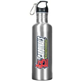 Saint Louis Cardinals 34oz Silver Aluminum Water Bottle