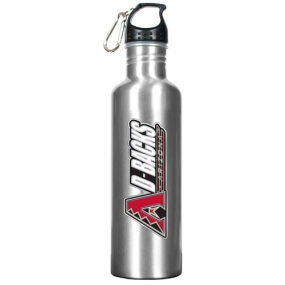 Arizona Diamondbacks 34oz Silver Aluminum Water Bottle