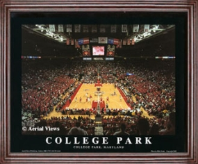 Print of Maryland Terrapins Comcast Center