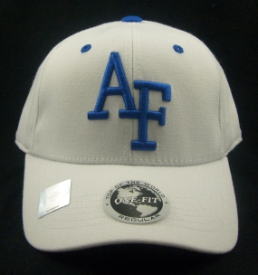 Air Force Falcons White One Fit Hat